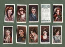 cigarette cards set Cinema Stars 1928 set second series